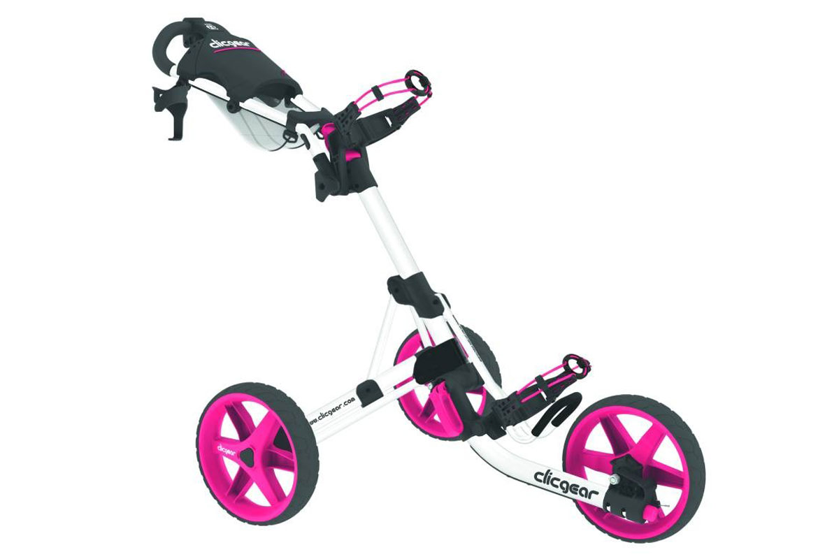 Clicgear 3.5+ Trolley White Pink