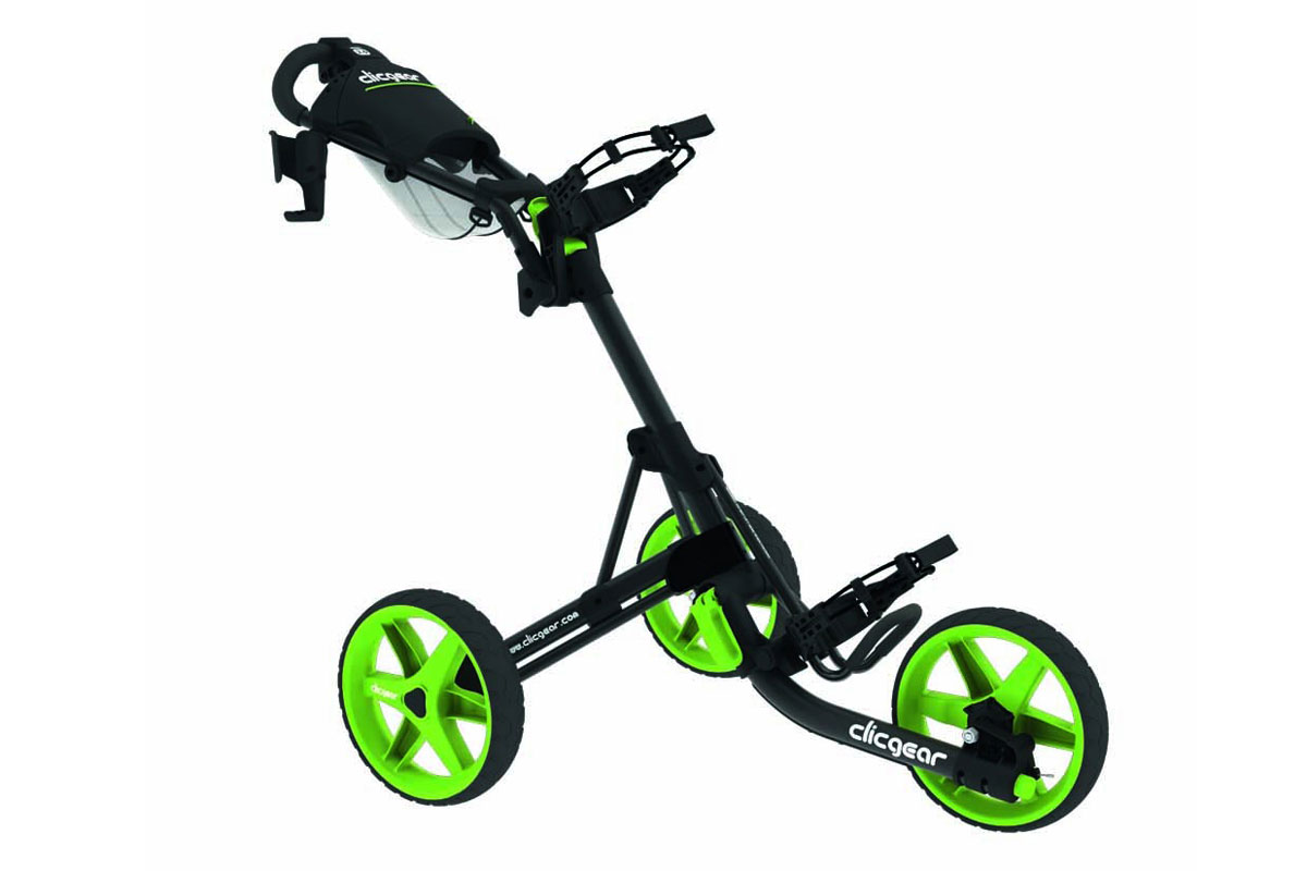 Clicgear 2017 3.5 Trolley Charcoal Lime