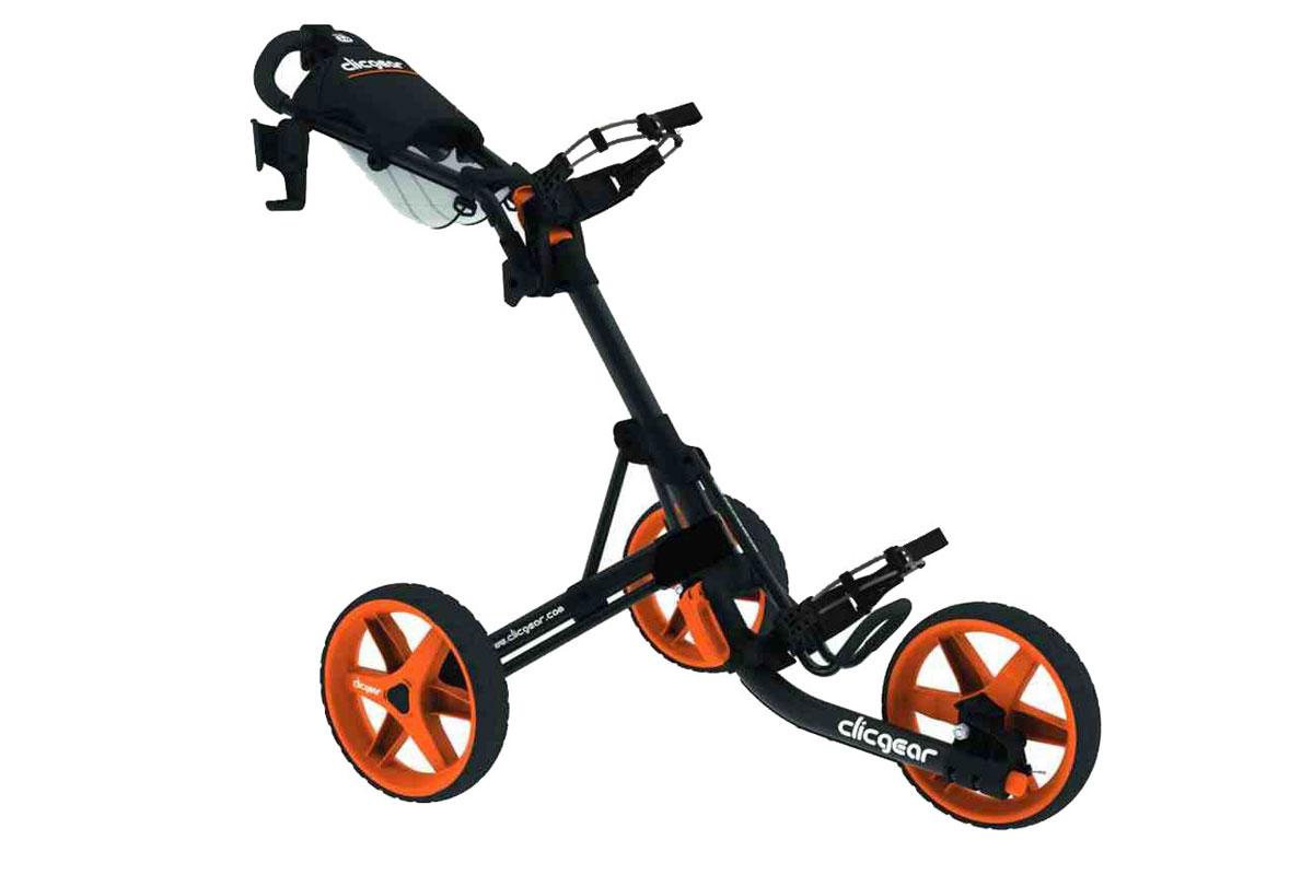 Clicgear 3.5 Trolley Charcoal Orange