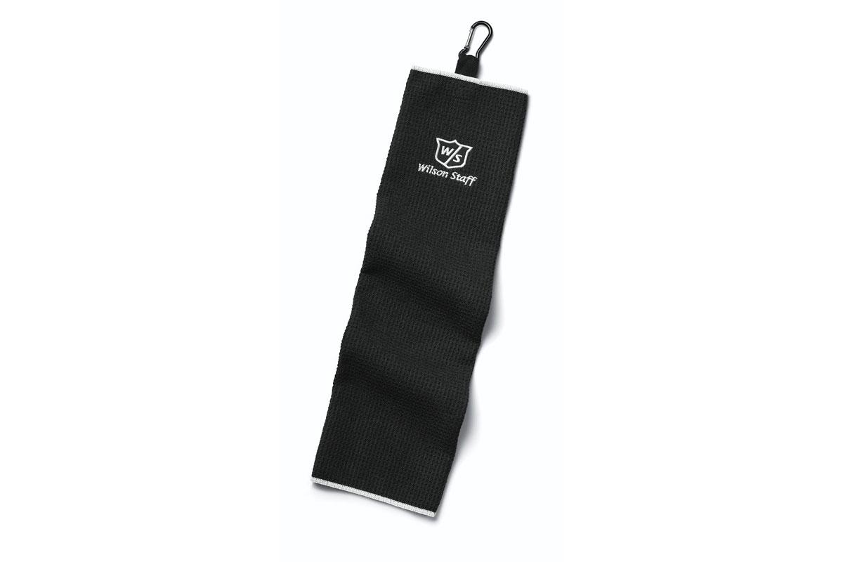 Wilson Staff 2018 Tri-Fold Microfibre Towel Black