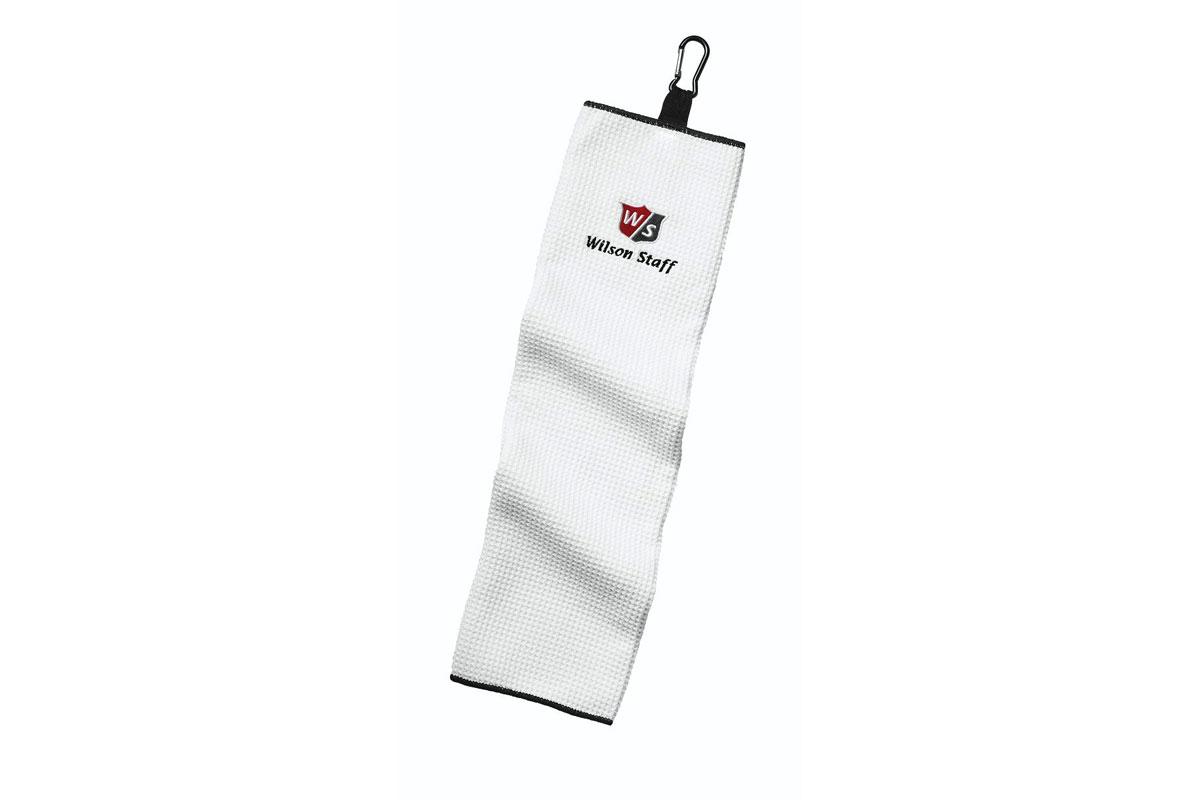 Wilson Staff 2018 Tri-Fold Microfibre Towel White