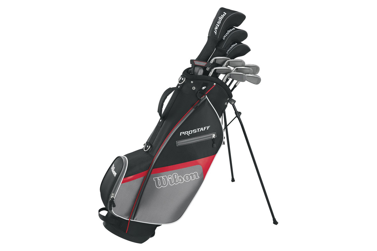 Wilson 2018 Pro Staff HDX Mens Package Set (Graphite)