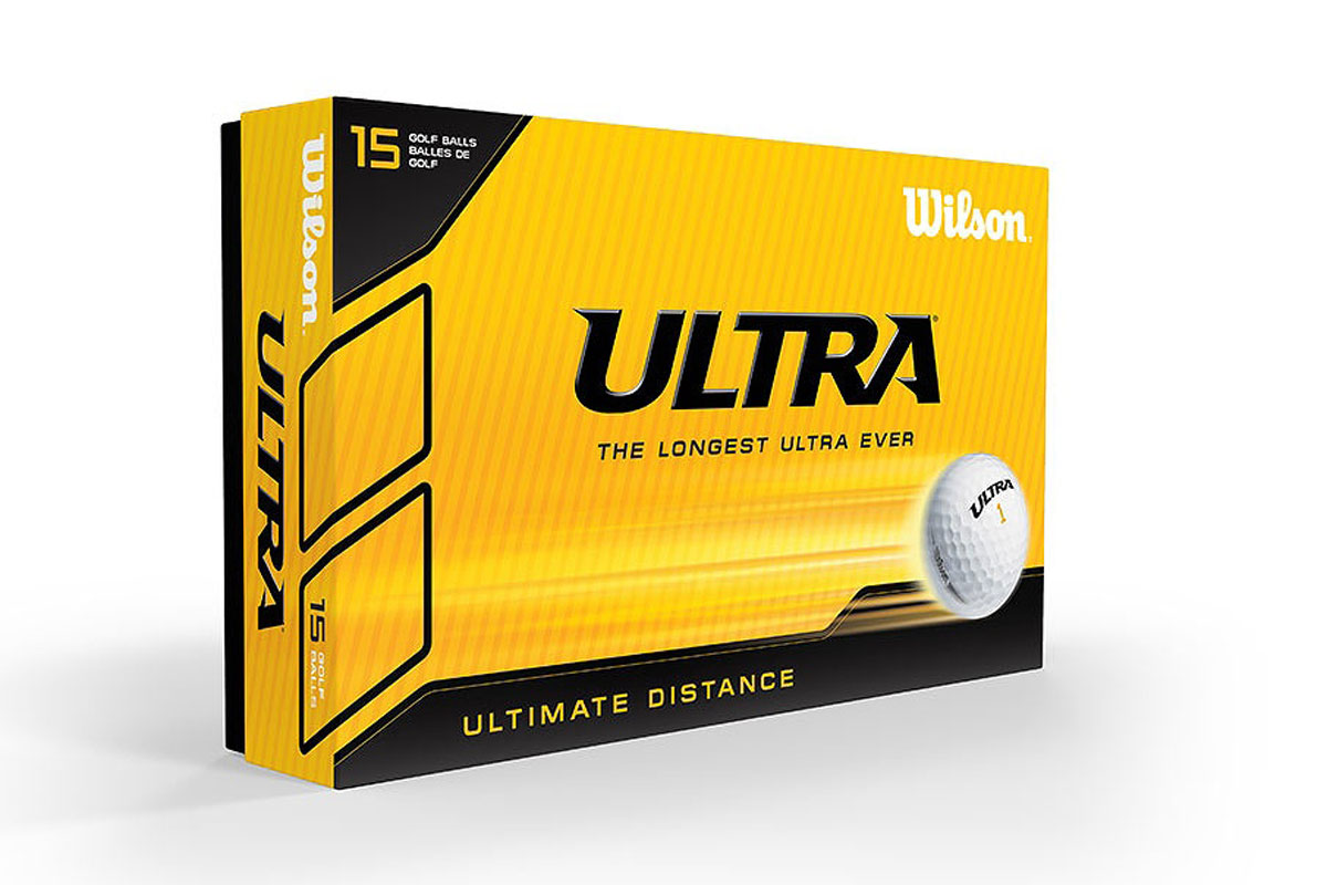 Wilson 2018 Ultra Golf Balls