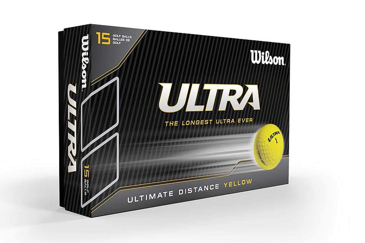 Wilson 2018 Ultra Golf Balls Yellow
