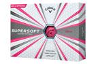 Callaway 2018 Supersoft Golf Balls Pink 3PK (36 Golf Balls)