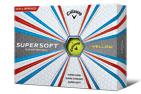 Callaway 2018 Supersoft Golf Balls Yellow 3PK (36 Golf Balls)