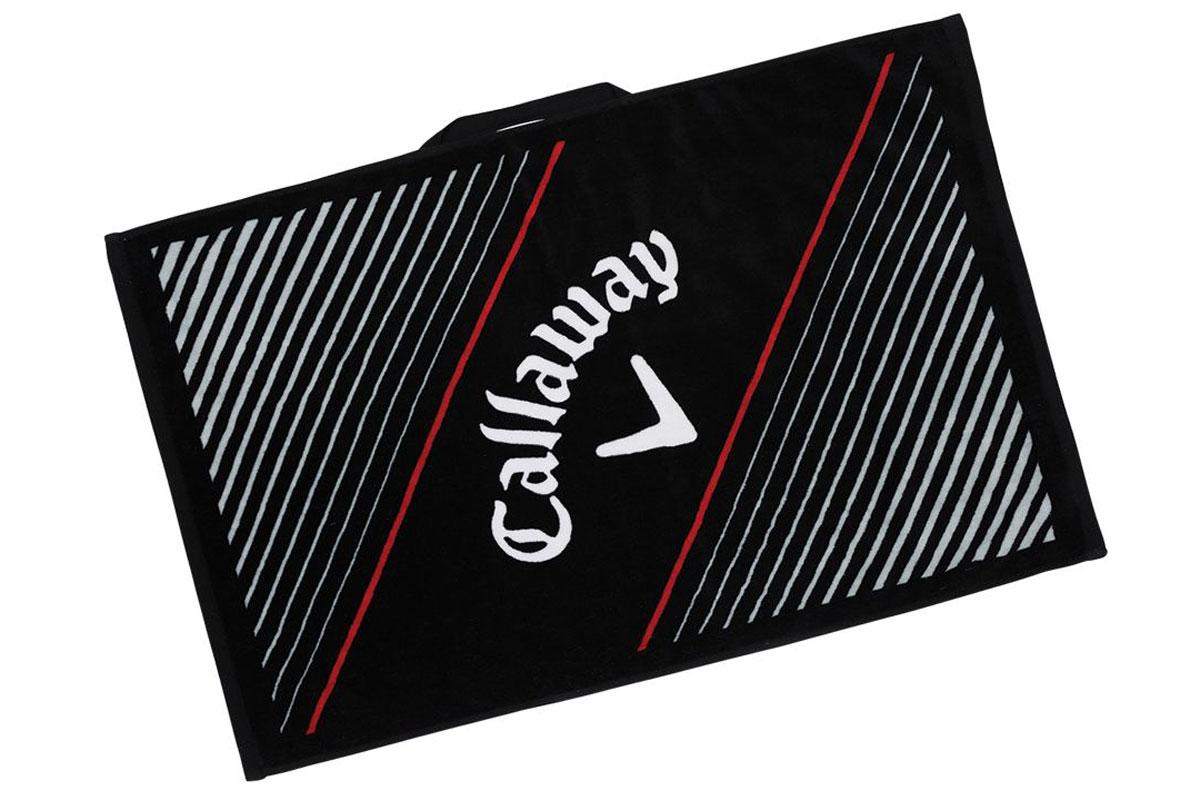 Callaway Tour Towel Black Red